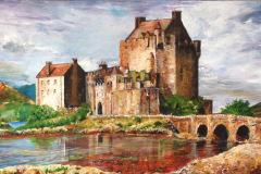 Jean Melville - Reflections of Eilean Donan