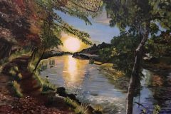 Paula Silvester - Sunrise on Lovers Walk