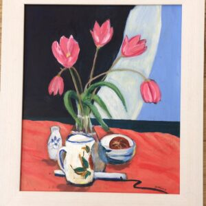 Tulips in a Vase (after Peploe)