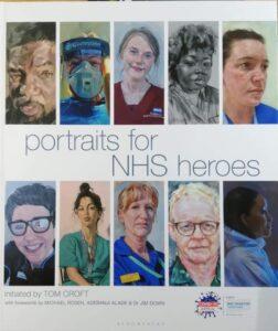 NHS portraits book cover